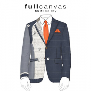 full canvas suit jacket